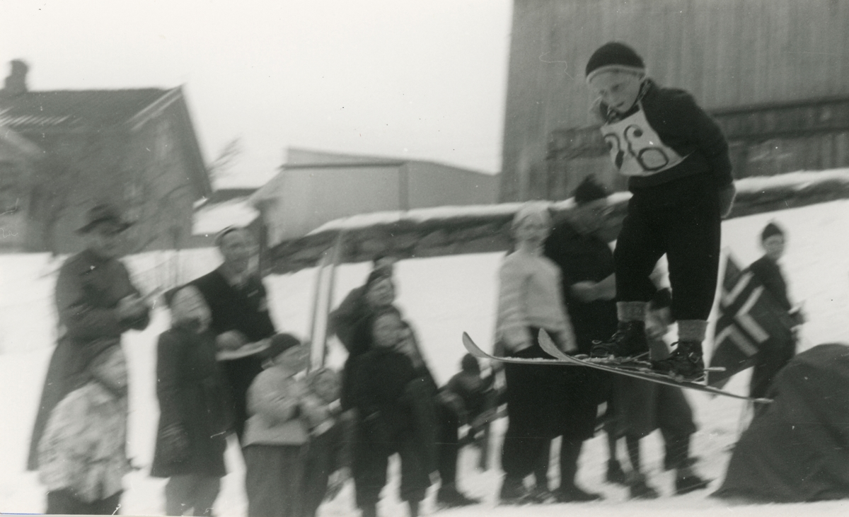 Skijumping for young boys, Kongsberg