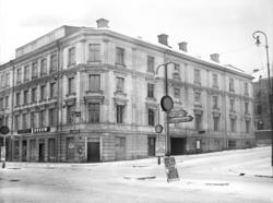 Hellbergska huset på Storgatan 33 där Maria Kihlbaum hade si