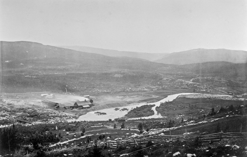 Eidet smeltehytte 1876