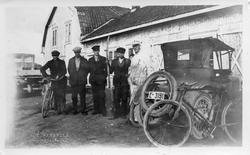 "Fra Johannes Hagens (""Dr. Ford"") bilverksted i Lillo, Østre"