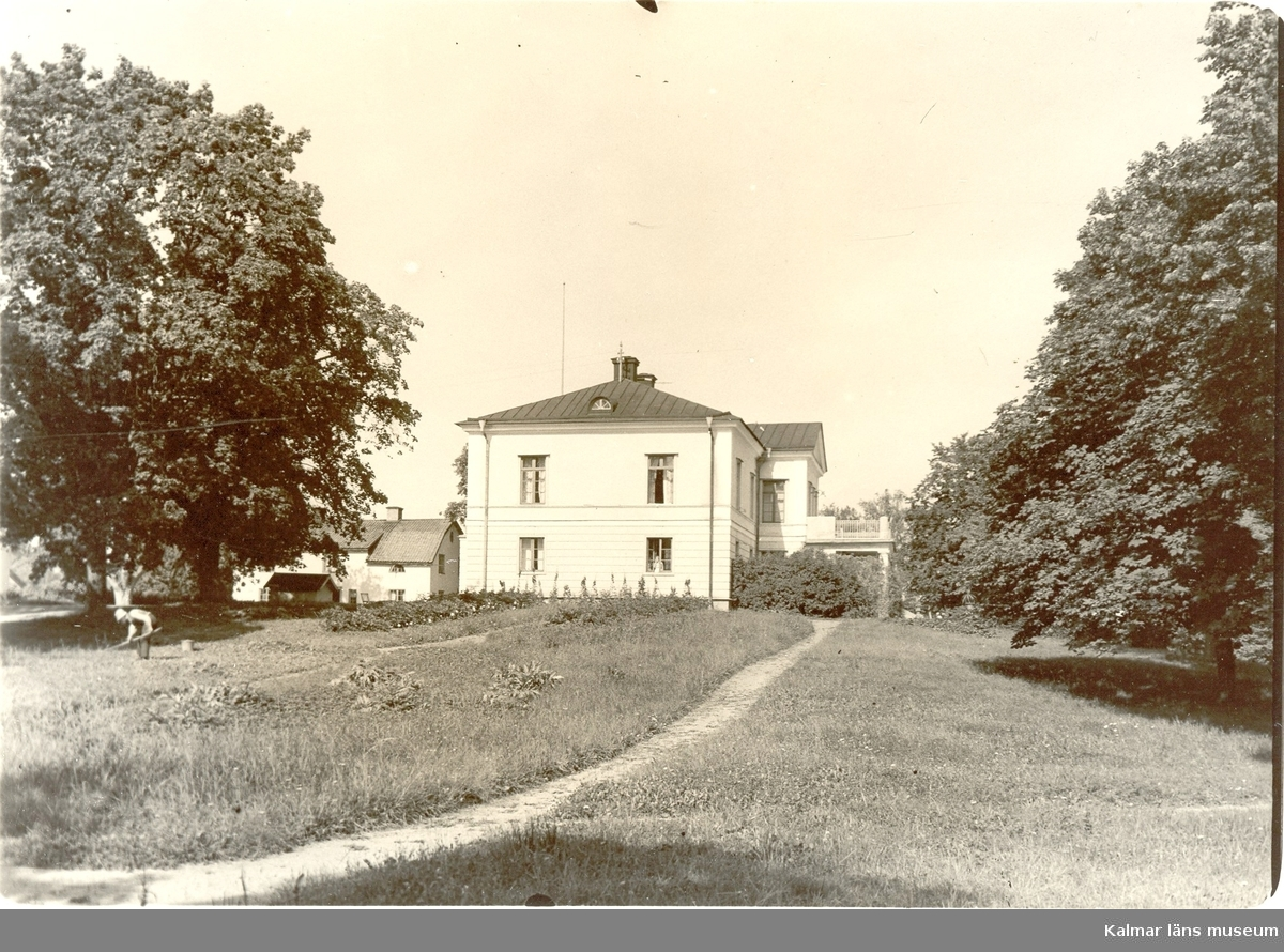 Vy från Nygårds herrgård.
