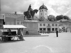 Kungstorget Uddevalla 1942