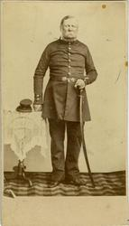 Porträtt av fanjunkare Samuel Magnus Swalander.