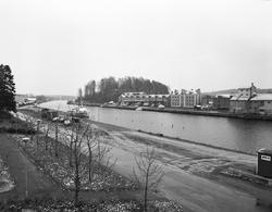 Söderhamn och kanalen