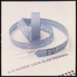 Data-elektronikk hullbånd Norsk Data
