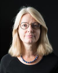 Porträtt Susanna Janfalk, chef för samlingarna Nordiska muse
