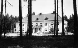 Skogstomt och disponentvilla i Sandviken. Foto 1937.