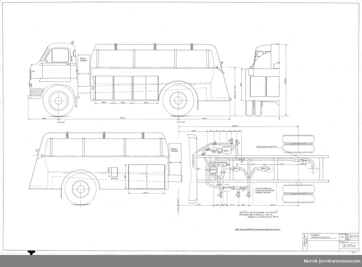 HØKA T-621 Tankvogn Norske Shell
