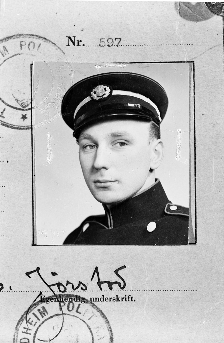 Herr E. Jörstad, Gävle. 27 februari 1943.