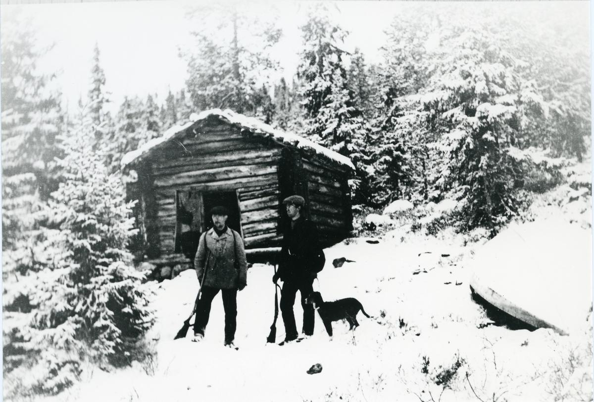 Mikkel O. Eid og Ole Rustebakke.
