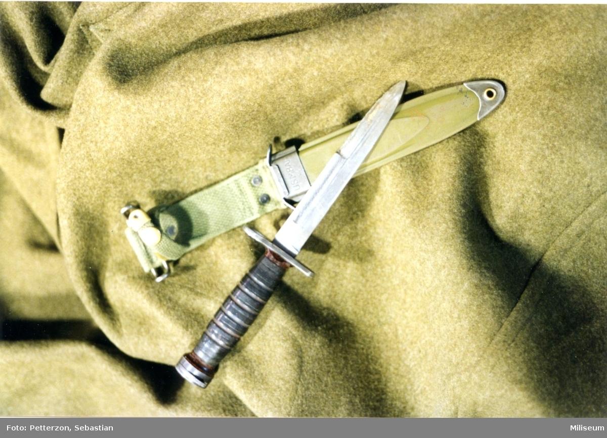 Bajonett, amerikansk. 2:a världskriget.