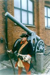 Palm, Anders. Uniform m/1706 för Jkpgs reg. I 12.