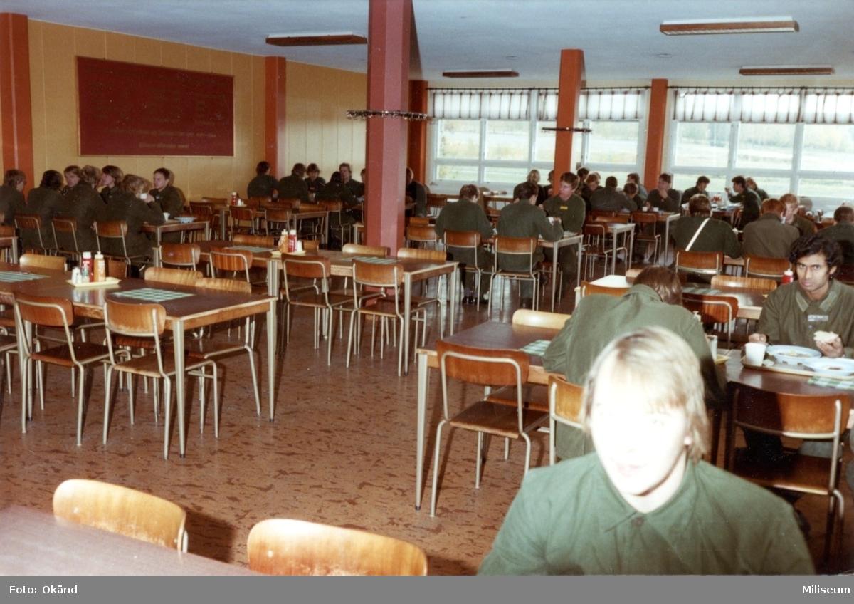 Militärrestaurangen, A 6. Interiör.