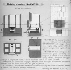Kakelugninsatsen National.