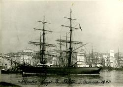 Brigg 'Atlantic' (ex tysk s.n.)(b.1870, J. F. Strenge, Fünfh