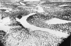 Oversiktsbilde over deler av Rendalen.