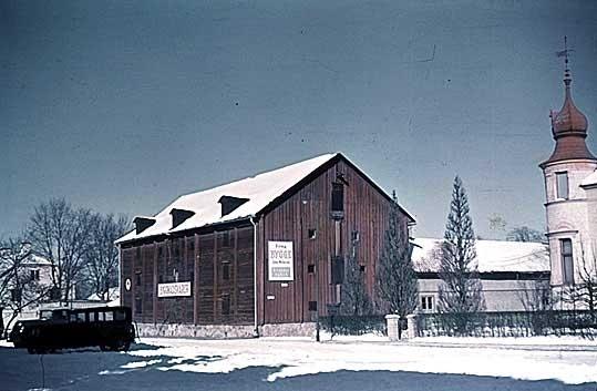 Brännvinsmagasinet på Magasintorget. Magasin. Magasinstorget. Linköping.