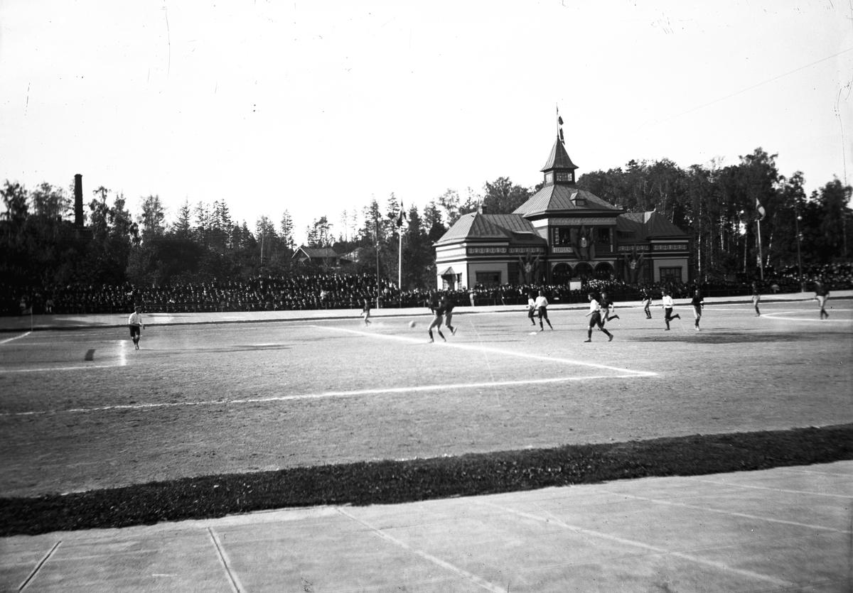 Fotbollsmatch.