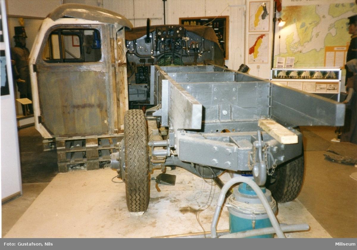 Terrängbil m/1942 M, Klöckner. Försvarsmuséet.