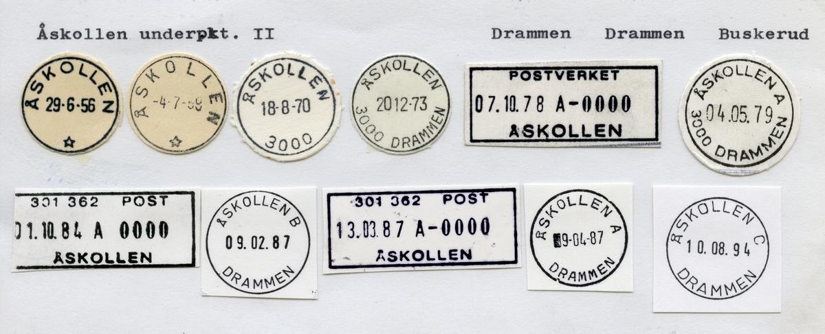 Åskollen, Drammen, Buskerud