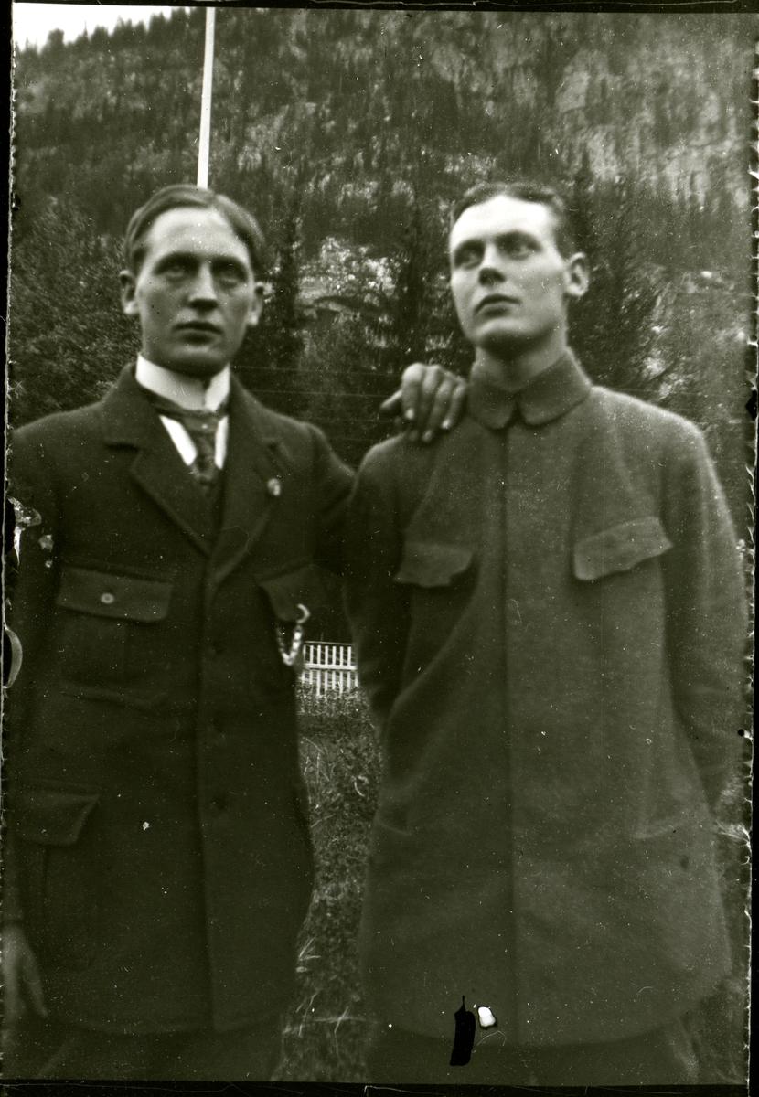 Arne og Johannes Koppervik.