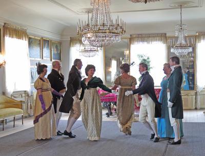 Historisk dans på Bogstad Gård. Foto: Hilde Løwe. Foto/Photo