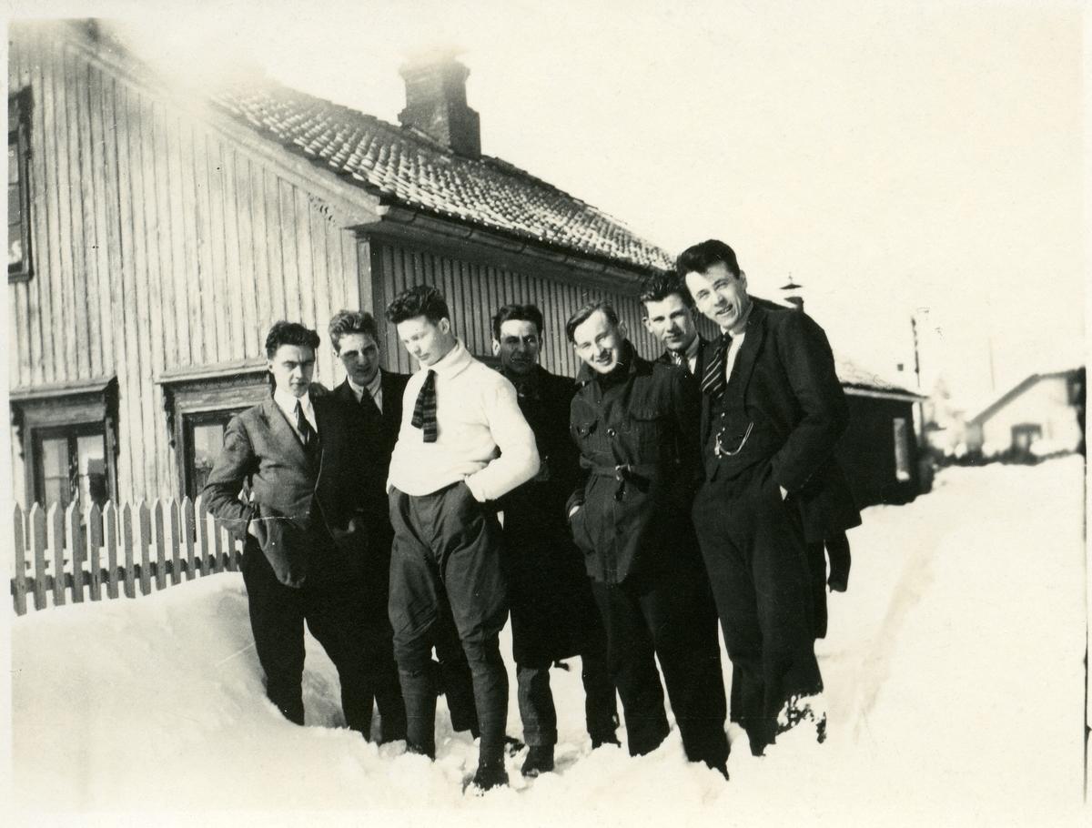 Truleg elevar ved Vestoppland Folkehøgskole.