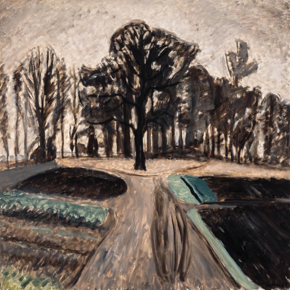 Parklandskap [Maleri]
