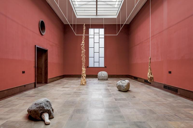 Mattias Härenstam installation photo from The Vigeland museum 2016.