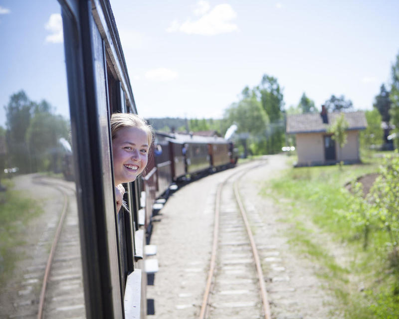 Historical railway tour with Tertitten