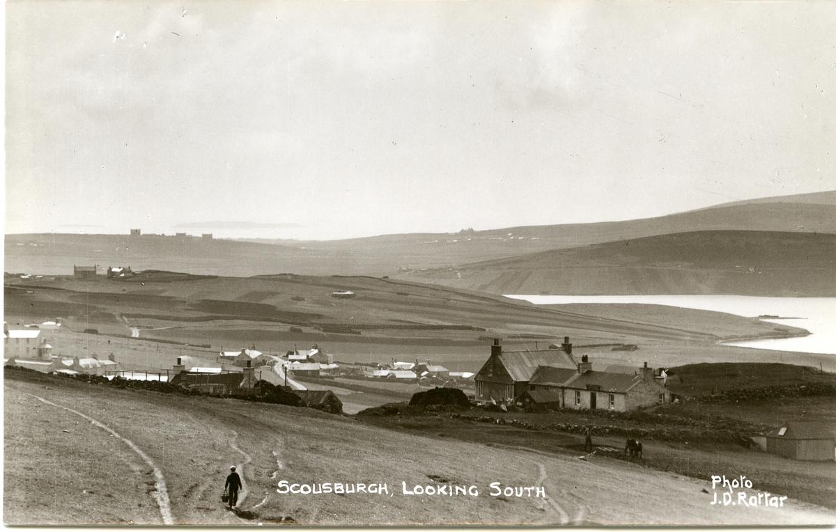 3 postkort med motiv fra Orknøyene.