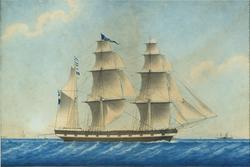 Barkskeppet Calmar [Fartygsbild]
