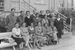 Gruppe Italienere. Foto for Adressa