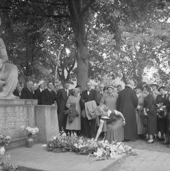 Kolbjørn Rygg. Urne på Domkirkegården. Foto for Adressa