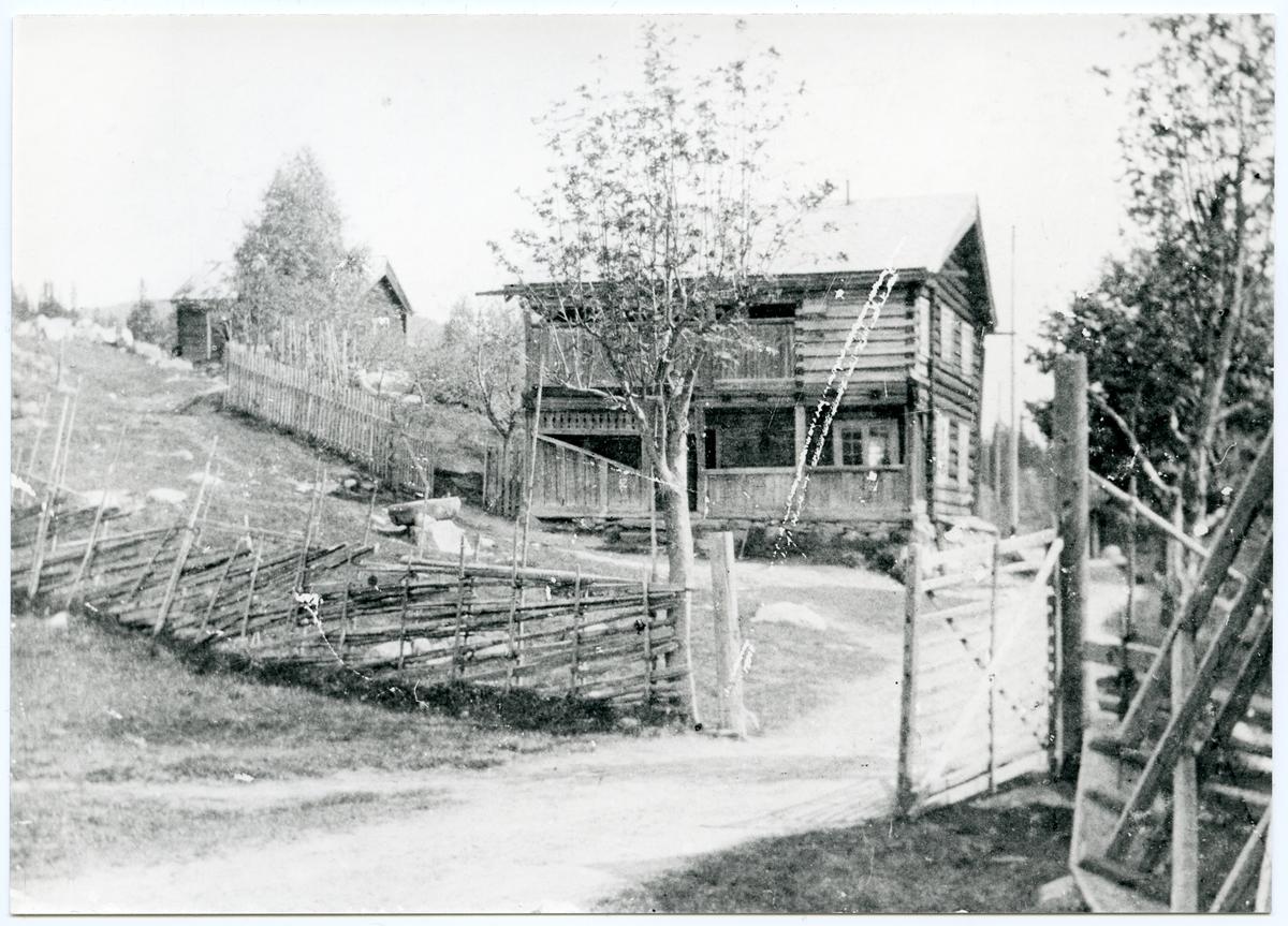 Våningshuset på garden Søre Storruste i Hedalen, Oppland.