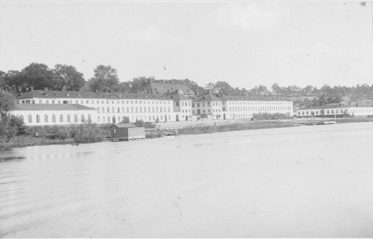 Karlbergs slott, Stockholm, från Kungsholmssidan.