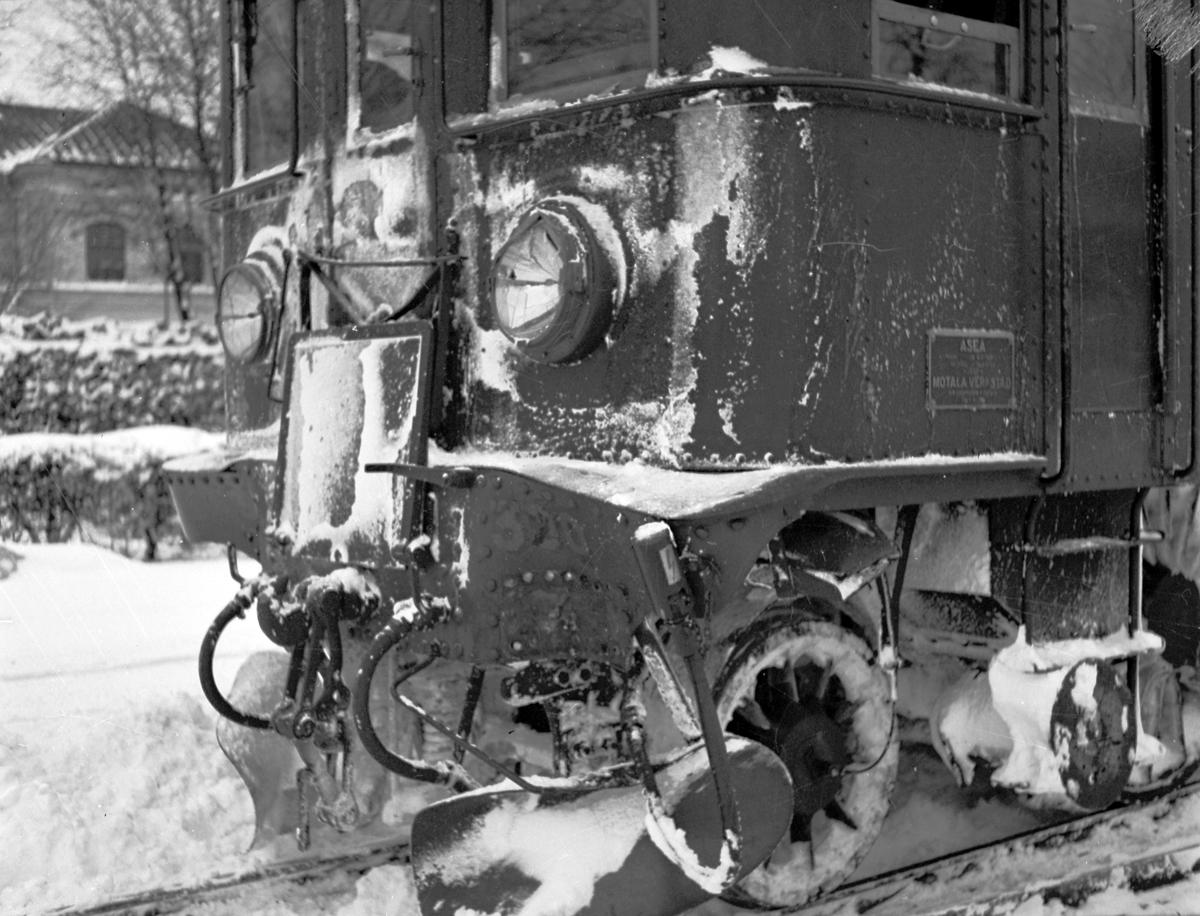 Buss/tågolycka vid Nynäs. Februari 1943