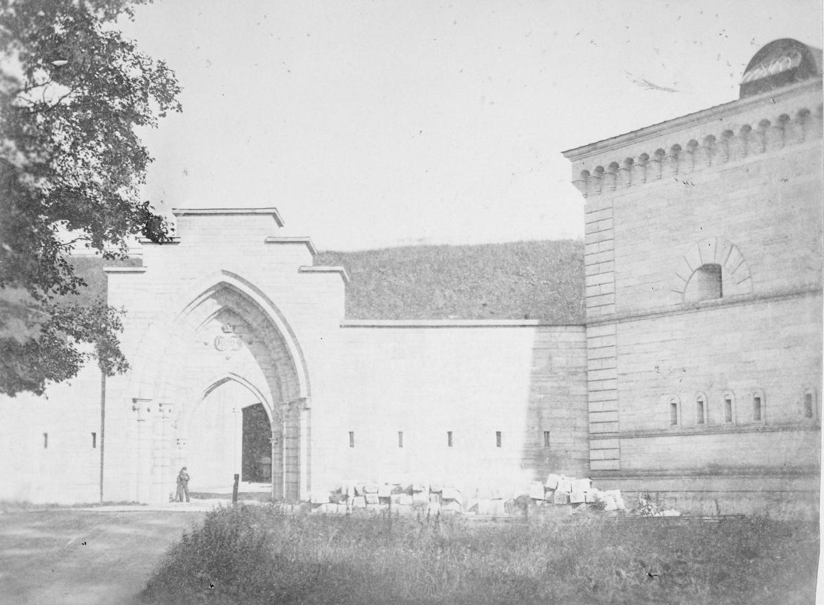 Götiska valvet, Karlsborgs fästning.