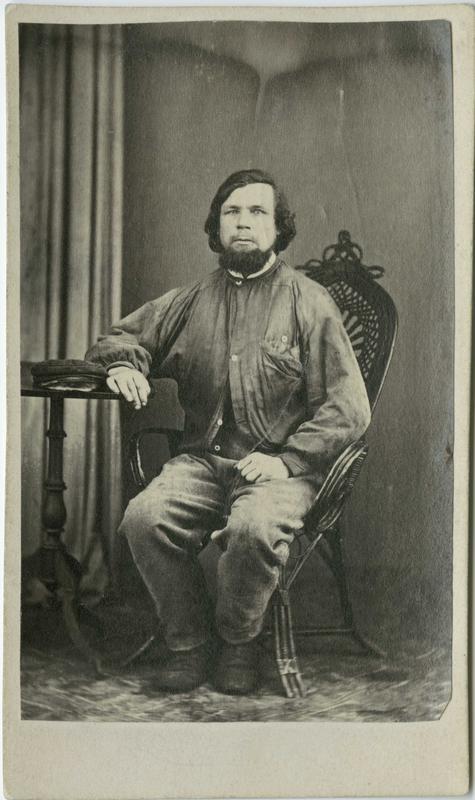 Børre Thoresen, Drammen, arrestert i 1868, innsatt i distriktsfengslet i Hokksund for heleri