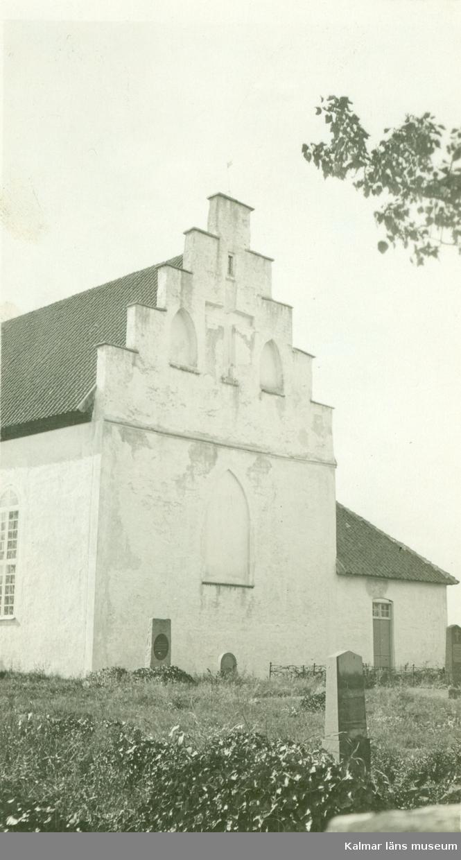Trappgaveln på Gärdslösa kyrka.