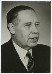 Helge Bruun född 1897 docent i botanik i Uppsala senare lekt