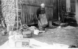 Liheim, 89.4, i Lio i Hemsedal sist på 1950-talet. Guri Lih