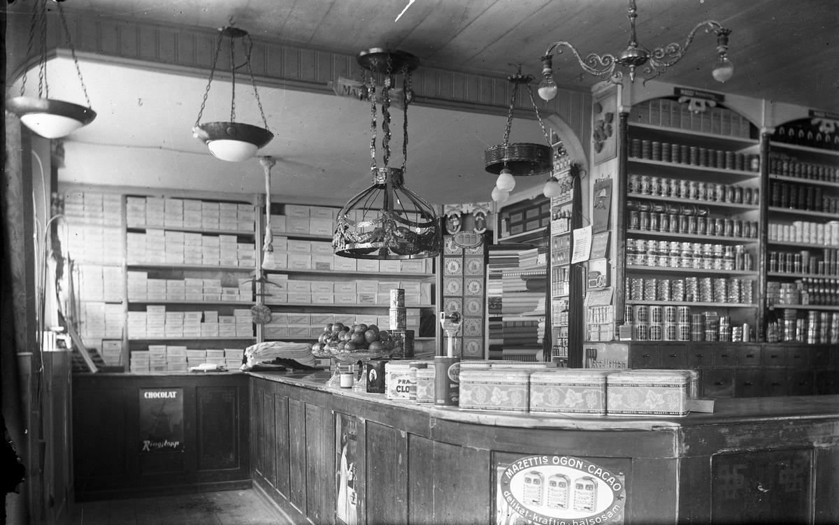 Lennart Norstedts specerihandel, 1920-talet.
