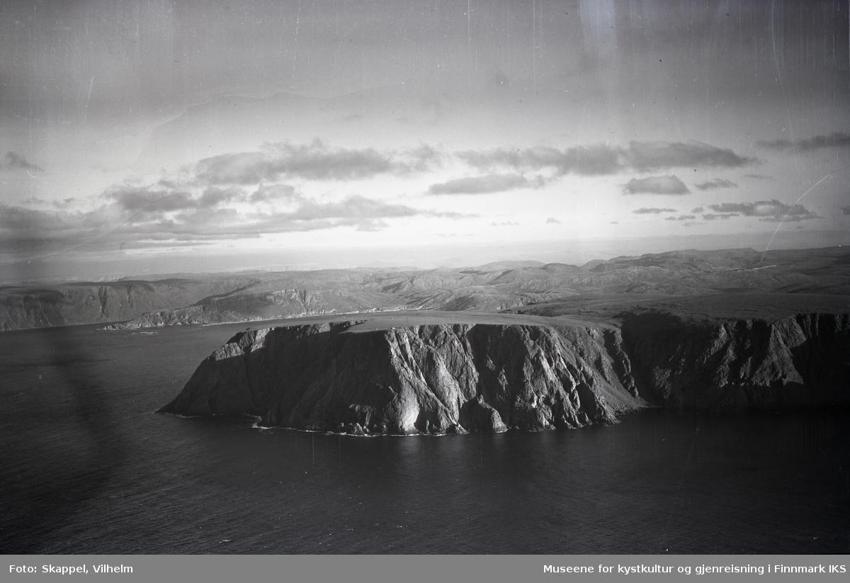 Flyfoto. Nordkapp. 22.08.1953.