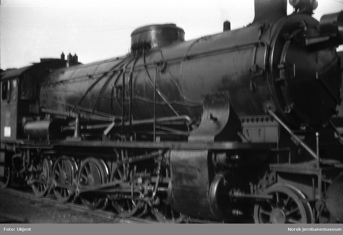 Damplokomotiv type 39a nr. 168
