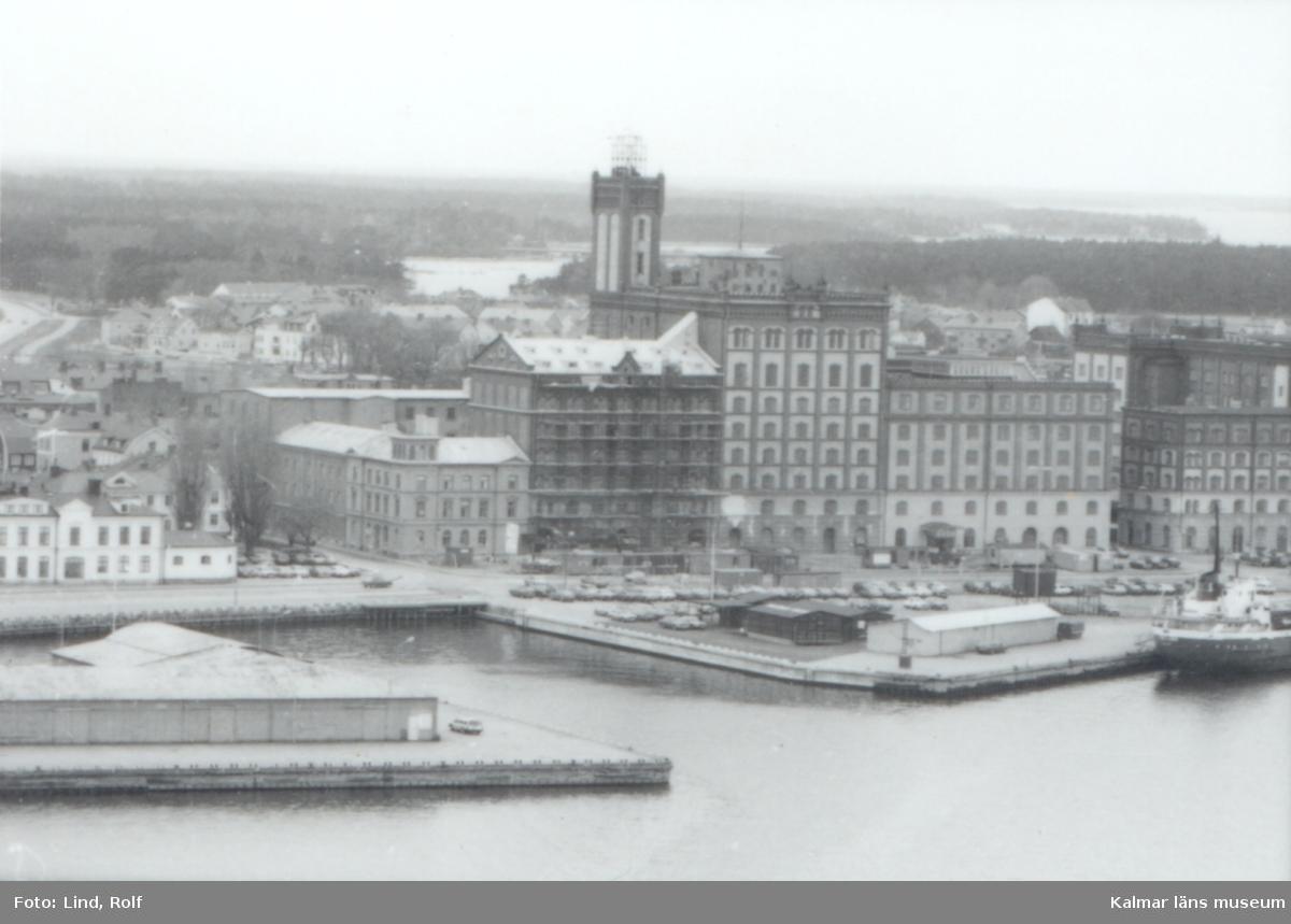 Kalmar Kvarnholmen Kv Kvarnen Utsikt från Tjärhovet.