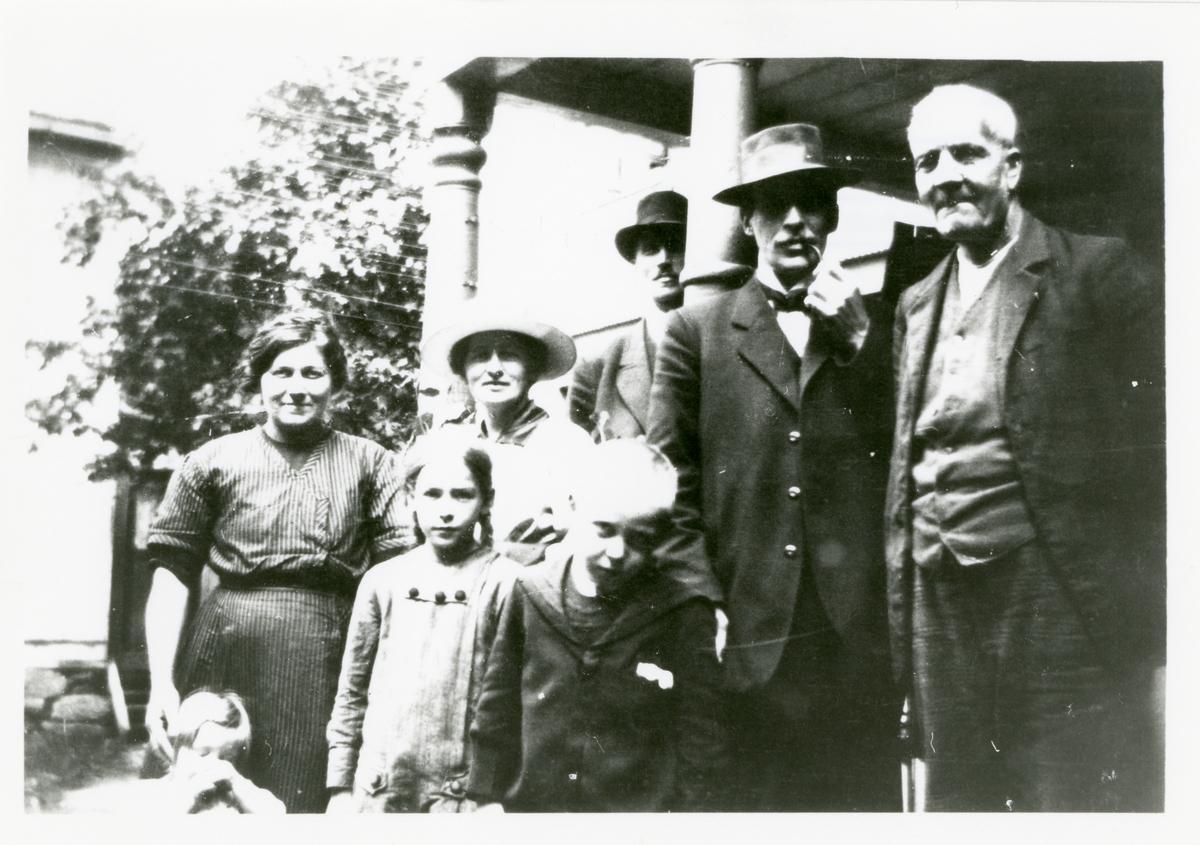 Gruppefoto på Liffengren.