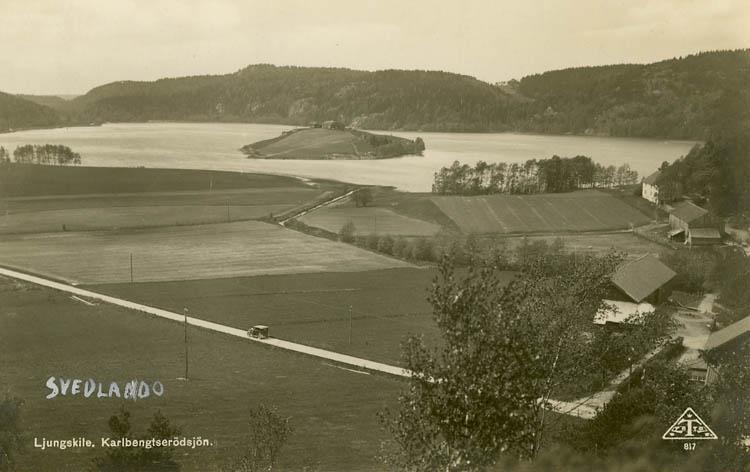 "Enligt Bengt Lundins noteringar: ""Waldner. Ljungskile. Karlbengtserödsjön""."