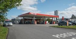 Circle K bensinstasjon Svarthagsveien Vestby