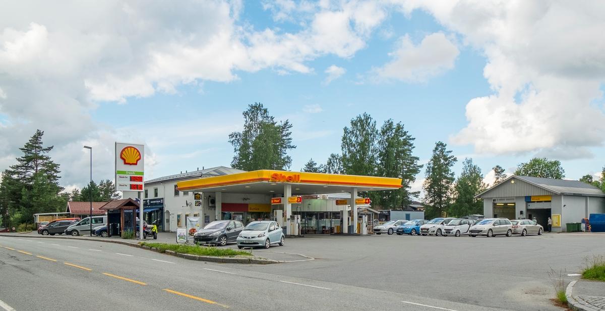 Shell bensinstasjon Aurveien Aurskog Aurskog-Høland